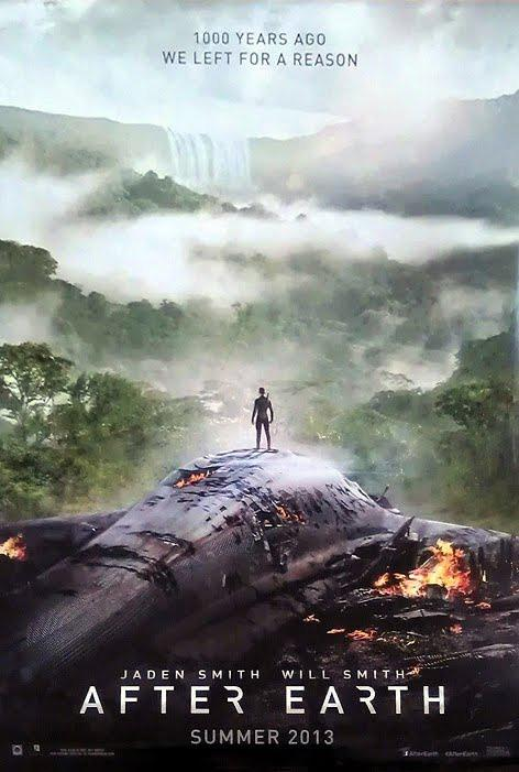 After Earth Movie official teaser poster