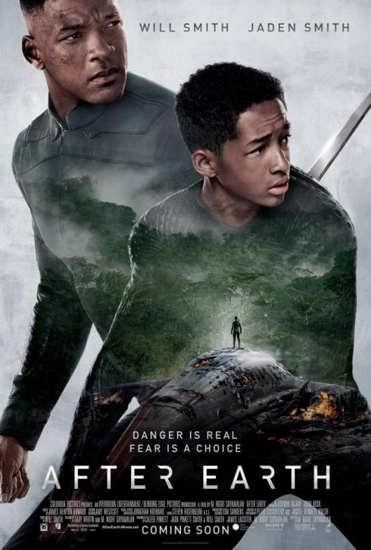 """After Earth"" M. Night Shyamalan's English Movie New Poster"